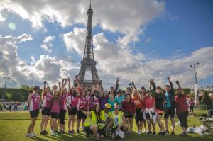 Team Not Arrogant at the Eiffel Tower